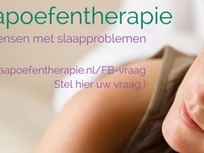 slaapoefentherapeut behandeling slaapproblemen